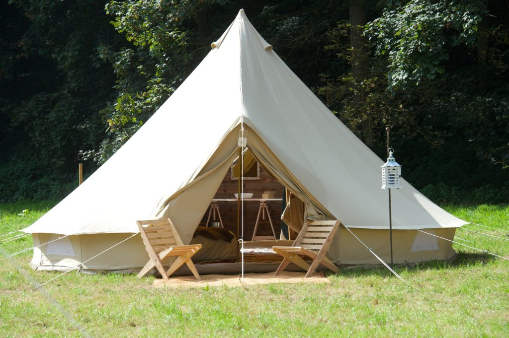 grande tente pour séminaire nature