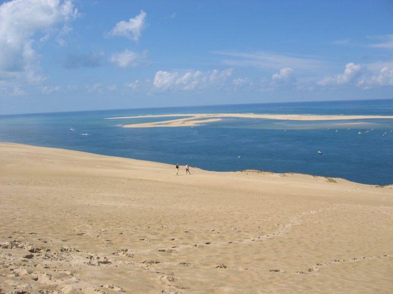 bassin d'arcachon vu de la dune du pilat