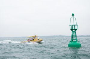 team building en bateau sur le bassin d'Arcachon