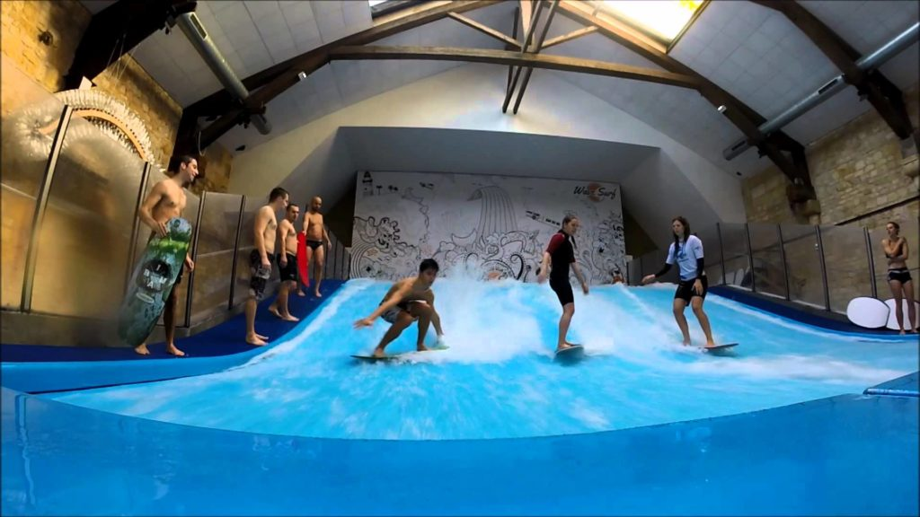 Team-building surf indoor