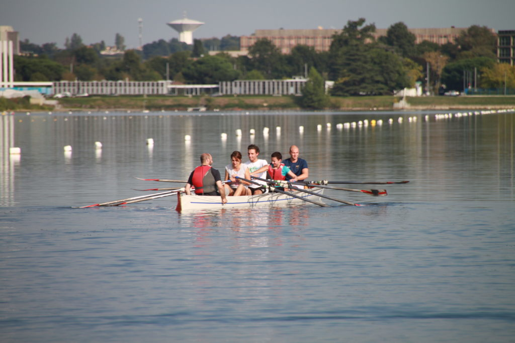 Team-building aviron