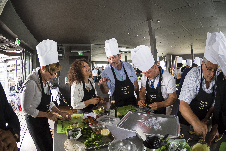 Team building cuisine avec for Team building cuisine